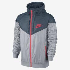 fac558c7f9 Nike new windrunner running windbreaker jacket 544119-014 mens size large