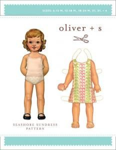 purl soho   products   item   seashore sundress pattern (oliver + s)
