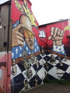 Great #Graffitti #Brighton May 2015 www.pinterest.com/annbri/