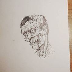 I always wonder how decayed they can get before they stop functioning. #Art #Zombie #Horror #Face #Portrait #Decay #Gore #Artist #Pencil #PencilDrawing #Sketch #Sketching #SketchBook #Monster #Zombies #TheWalkingDead #TWD #InstaDraw #InstaArtist #InstaArt #ArtistsOfInstagram