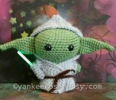 Hey, I found this really awesome Etsy listing at https://www.etsy.com/listing/387083636/star-wars-baby-yoda-inspired-amigurumi