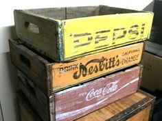 Vintage drink holders