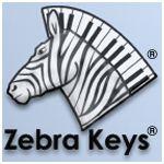 Zebra Keys logo