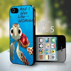Squirt from Finding Nemo - design for iPhone 5 case