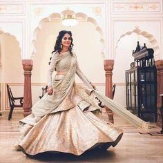 Our Favourite Brides in Glamorous Wedding Outfits by Gaurav Gupta | ShaadiSaga