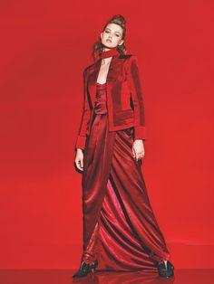 Rengin adi Kirmizi: Lindsey Wixson by Richard Burbridge for Vogue Turkey August 2015