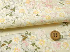 Japanese fabrics, floral quilt fabrics small scale