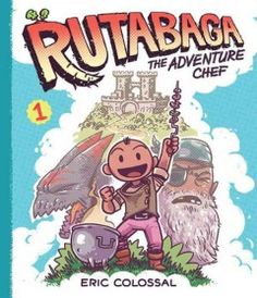 Rutabaga and his magic cooking pot join three young adventurers on a culinary quest to defeat a dragon, discover new ingredients and identify monsters to invite to, or eat for, dinner.
