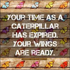 Time to soar! Into second part of Life