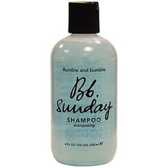 Buy Bumble and bumble Sunday Shampoo (250ml) , luxury skincare, hair care, makeup and beauty products at Lookfantastic.com with Free Delivery.