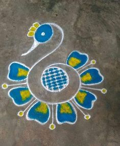 neethunithi mugulu Easy Rangoli Designs Diwali, Rangoli Simple, Indian Rangoli Designs, Simple Rangoli Designs Images, Rangoli Designs Latest, Rangoli Designs Flower, Free Hand Rangoli Design, Small Rangoli Design, Rangoli Patterns