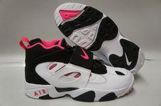 Pink and Black  white   air    | Nike Air Diamond Turf II Black Pink Flash White Sneakers Girls GS Size