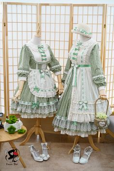 Fantastic Wind -Milky Way Star Chips- Sweet Classic Lolita Apron and Cover-up Dress