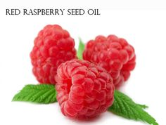 Natural sunscreen - 1. Red Raspberry Seed Oil- SPF 30 to 50