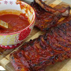 Sabrosas Costillas BBQ   Recetas de Nestlé   ElMejorNido.com