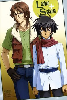 Tags: Anime, Mobile Suit Gundam 00, Setsuna F. Seiei, Lockon Stratos, Lyle Dylandy
