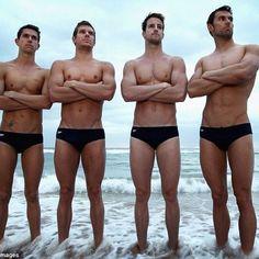 Australian Men's Olympic Swim Team. I hope there are more like them