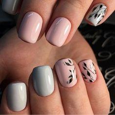 125 fun designs for cute nails that will make you flip – page 1 Nail Art Cute, Cute Nails, Pretty Nails, Fabulous Nails, Gorgeous Nails, Shellac Nails, Acrylic Nails, Hair And Nails, My Nails