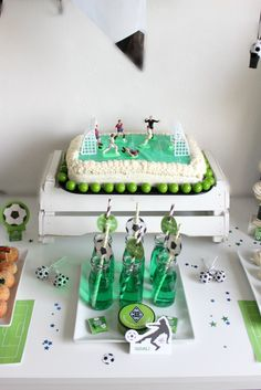 Fussball Geburtstag - Borussia Mönchengladbach   SASIBELLA  soccer Party