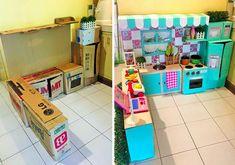 Une mère philippine nommée Rodessa Villanueva-Reyesa un jour une idée : transformer de simples cartons pour ravir sa fille chérie. C'est alors qu'elle s'est mise à collecter des cartons auprès d'amis et de magasins pour créer une mini cuisine pour sa fille qui adore jouer dans la cuisine et semble prédisposée à se lancer dans …