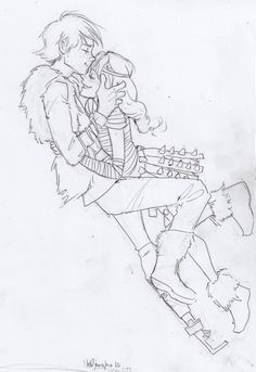 Firecracker - by burdge (burdge-bug.deviantart.com) Hiccup and Astrid from How to Train Your Dragon