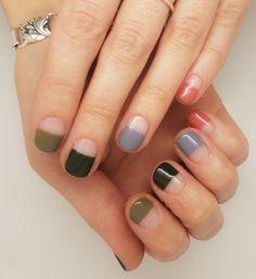80 Awesome Minimalist Nail Art Ideas 80 Awesome Minimalist Nail Art Ideas,Naildesigns - must try! nail designs nails ideas ideas for winter nail art nail designs Diy Nails, Cute Nails, Pretty Nails, Minimalist Nails, Minimalist Art, Nagel Gel, Easy Nail Art, Nail Art Diy, Beauty Nails
