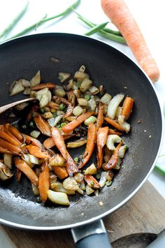 Caramelized Carrot and Fennel Soba Stir Fry
