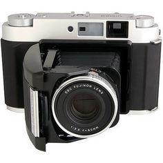 Fujifilm GF670 Rangefinder Folding Camera.     I was toying with a digital system until I came across the Fuji GF670.