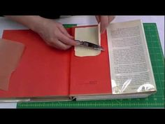 Remove a Library Pocket: Save Your Books Arts And Crafts Storage, Arts And Crafts Supplies, Craft Storage, Library Pockets, Book Repair, Photo Repair, Library Science, Teacher Librarian, Book Holders