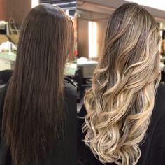 Blonde Hair Looks, Brown Blonde Hair, Light Brown Hair, Light Hair, Brunette Hair, Balyage Hair, Balayage Hair Blonde, Gorgeous Hair Color, Honey Hair