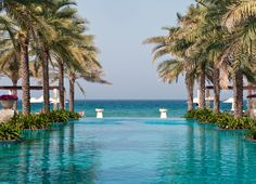 The famous Infinity Pool at Al Bustan Palace, #Oman