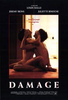 Damage (1992) by Louis Malle, with Jeremy Irons & Juliette Binoche