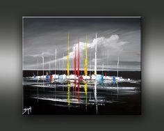 Galerie de peinture de l'artiste peintre BRUNI. Exposition et vente de tableaux figuratifs, peinture paysage.