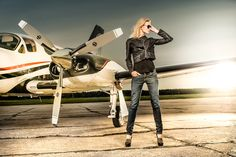 Aircraft Cessna 421 with photomodel by Sebastian Rudnicki on 500px