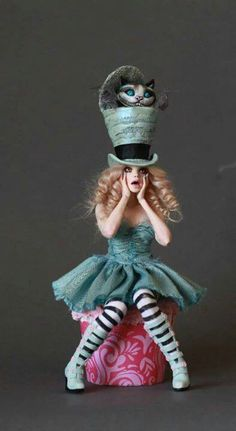 Alice in Wonderland the mad hatter costume make yourself Costume ide .Alice der hutmacher id in costume Make the Mad Hatter Costume yourself maskerix.deAlice in Wonderland the mad hatter costume make yourself Costume Costume Halloween, Halloween Makeup, Halloween Fun, Alice Costume, Cheshire Cat Costume, Tim Burton Halloween Costumes, Fairytale Costume, Halloween Games Adults, Scarecrow Costume