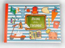Geniales SCHUL-Freundebuch XXL OHNE Tasche