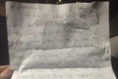 A nasty note left by an Ohio woman's neighbour over a handicapped parking spot has gone viral.