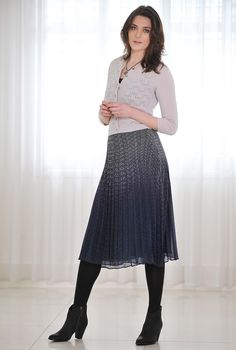 SUNRAY PLEAT SKIRT - Women's Skirts | Brora
