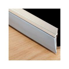 M D Building 36in L Door Seal Bottom Triple Fin In Aluminum Silver (43300)
