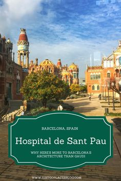 The Hospital de la Santa Creu and Sant Pau was opened in 1930 on the site of an older hospital dating back to the Middle Ages created by the Counts of Barcelona. In order for this medieval hospital to maintain itself, the Spanish kings allowed the Hospital the right to money from theatrical performances in Barcelona.