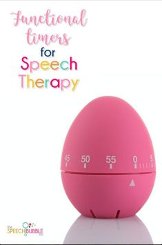 Timers are a great way to keep speech therapy moving, have fun games, and manage behaviors. Get my recommendations here! #timer #useful #tool #classroom #necessity #speech #therapy #OT #SPED #lesson #planning