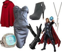 """Superhero Fashion: Thor"" on Polyvore"