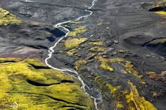 It's about the pure and dreamy nature. Enjoy the breathtaking aerial views of Iceland by french photographer Sarah Martinet. Iceland Travel, Landscape Pictures, Nature Pictures, Aerial Photography, Landscape Photography, Amazing Photography, Nature Photography, Holiday Iceland, Nature