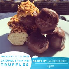 Who doesn't love a simple and versatile protein-rich #CheatClean recipe? These truffles can be subtly sweet or marvelously minty - the choice is yours! Trust us, you're going to want to try this Fan Recipe…