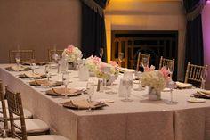 St. John's Grand Ballroom   Wedding Flowers by Heidi