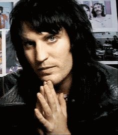 Noel Fielding. I have an insane crush on him, and I do not care if anyone else gets it.