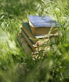 books in nature