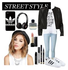 """""""Casual Black and White"""" by inairdni on Polyvore"""