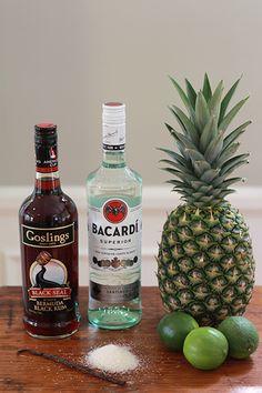 Three Rum Punch & Italian Greyhound | New York Cocktail Recipes