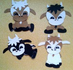 One Custom Fall Baby Goat Kids Paper Piecing Summer Spring Tear Bear Kira   eBay
